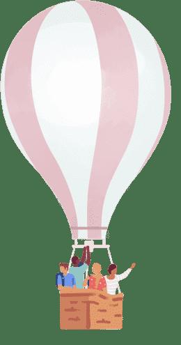 Large Hot Air Balloon